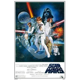 Star Wars - Poster La Guerra de las Galaxias (91,5 x 61 cm)