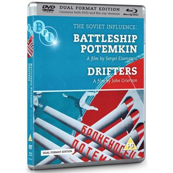 Battleship Potemkin + Drifters - Blu-ray + DVD Importação
