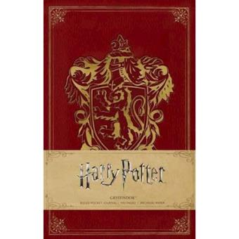 Caderno Pautado Harry Potter - Gryffindor Bolso