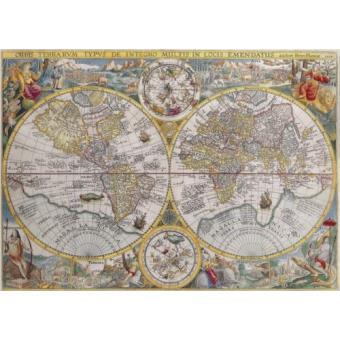 Puzzle Mapa Mundo 1594 1500 peças
