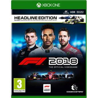 Fórmula 1 2018 - Xbox One