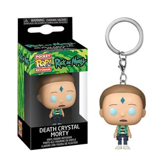 Funko Pop! Porta-Chaves Rick and Morty: Death Crystal Morty