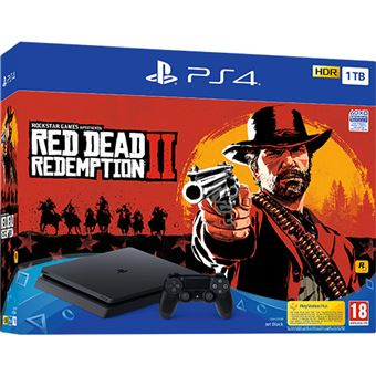 Consola Sony PS4 1TB + Red Dead Redemption II