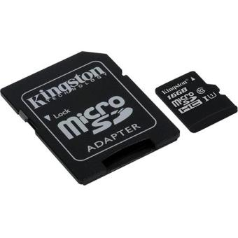 Kingston Cartão microSDHC 16GB 45/10MB