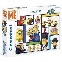 Puzzle Minions - 1000 Peças - Clementoni