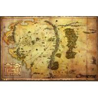 Hobbit - Poster Mapa (61 x 91,5 cm)