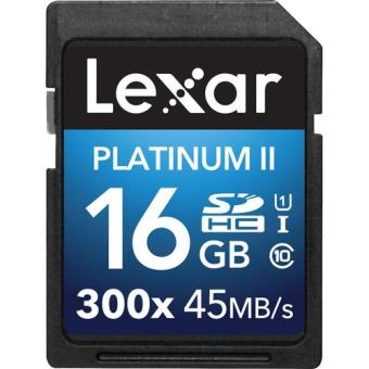 Lexar SDHC 16GB Platinum II UHS-I 300x