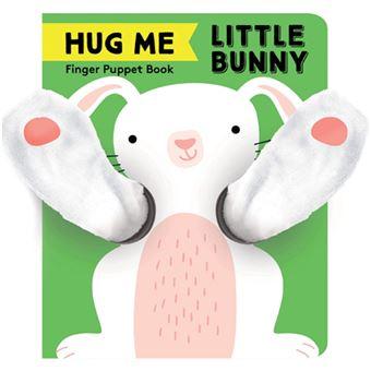 Finger Puppet Book: Hug Me Little Bunny