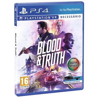 Blood and Truth VR - PS4