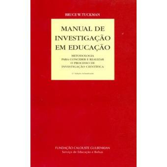 Manual de Investigação em Educação