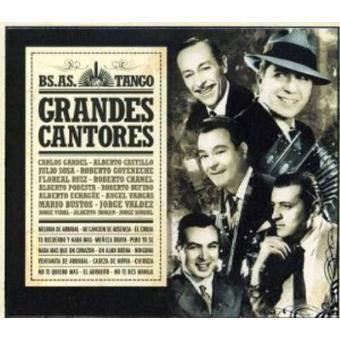 Grandes Cantores - Bs.As. Tango
