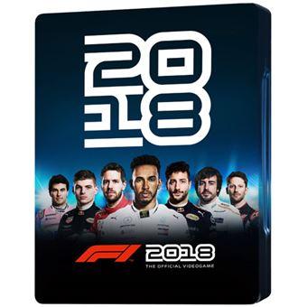 Fórmula 1 2018 - Edição Steelbook - PS4