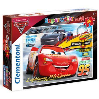 Puzzle Maxi Cars 3 - 24 Peças - Clementoni
