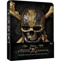 Piratas das Caraíbas: Homens Mortos Não Contam Histórias - Edição Steelbook (Blu-ray)