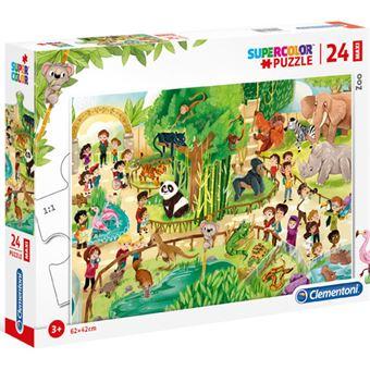 Puzzle Maxi Zoo - 24 Peças - Clementoni