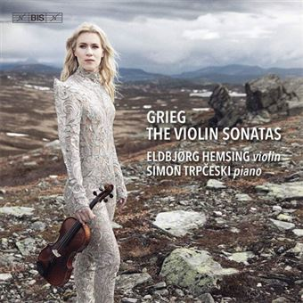 Grieg: The Three Violin Sonatas  - SACD