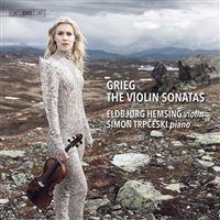 Grieg: The Three Violin Sonatas  - SACD