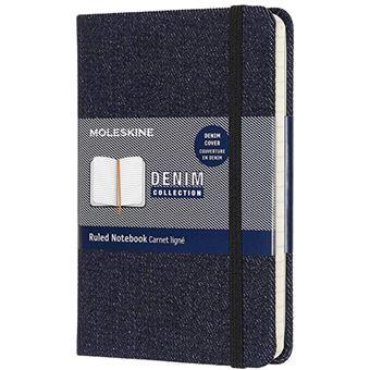 Caderno Pautado Moleskine Denim Prussia Bolso