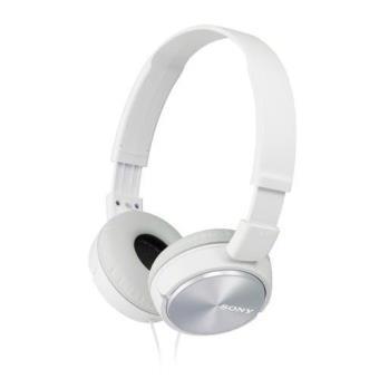 Auscultadores Sony MDR-ZX310 (Branco)