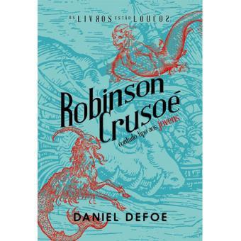 Robinson Crusoé Contado Tipo aos Jovens