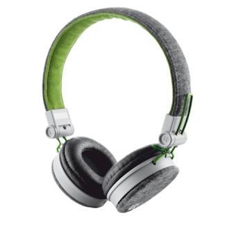 Urban Revolt Fyber Fita de cabeça Binaural Com fios Verde, Cinzento auricular para telemóvel