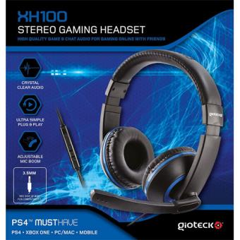 Gioteck XH-100 Wired Stereo Headset PS4/Xbox One/PC