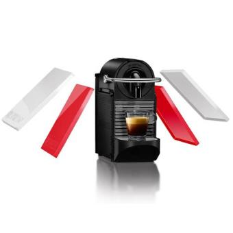 Delonghi Nespresso Pixie Clips (Branco/Vermelho)