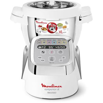 Robot de Cozinha Moulinex Companion XL - Branco