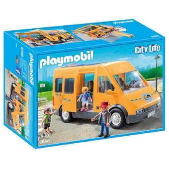 Playmobil City Life 6866 Transporte Escolar