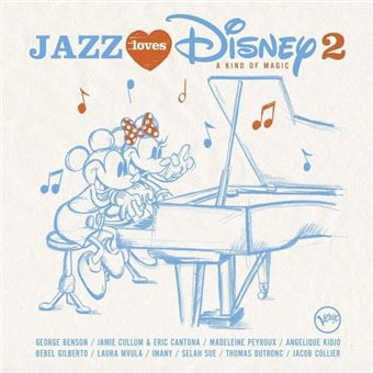 Jazz Loves Disney 2: A Kind of Magic - CD