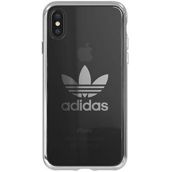 Capa Adidas Seethrough para iPhone X - Cinzento