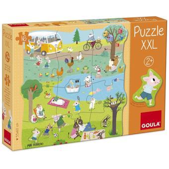 Puzzle XXL Um Dia no Campo - 16 Peças - Goula