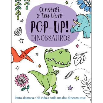 Constrói o Teu Livro Pop-Up! - Dinossauros