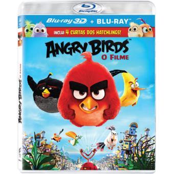 Angry Birds: O Filme (Blu-ray 3D + 2D)
