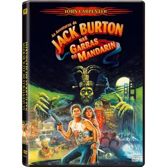 As Aventuras de Jack Burton nas Garras do Mandarin - DVD