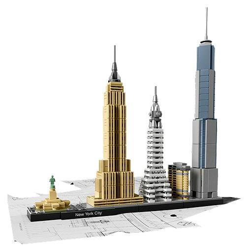 Captivating LEGO Architecture 21028 New York City   LEGO   Compre Na Fnac.pt
