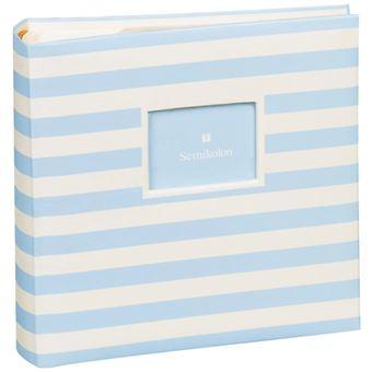 Álbum Para Fotografias Semikolon Pockets Pequeno Baby Blue - 200 Fotografias