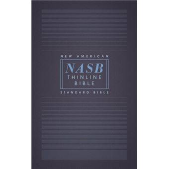 Nasb, thinline bible, paperback, re
