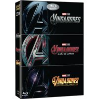 Pack Os Vingadores - 3 Blu-ray
