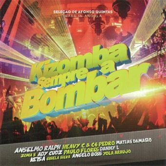 Kizomba Sempre a Bombar - CD