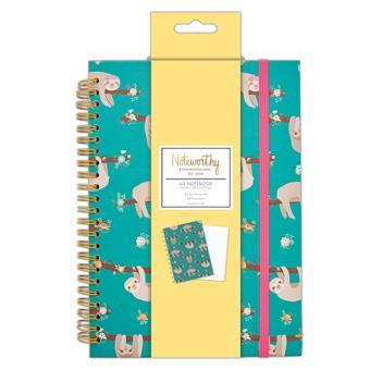 Caderno Pautado It's a Sloth's Life A5