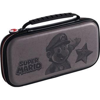 Bolsa de Viagem BigBen Super Mario para Nintendo Switch - Cinzento