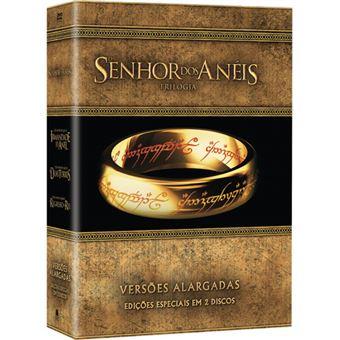 Senhor dos Anéis Trilogia - DVD