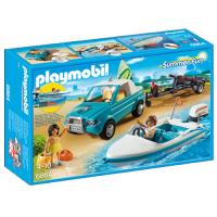 Playmobil Family Fun 6864 Pick-up com Barco