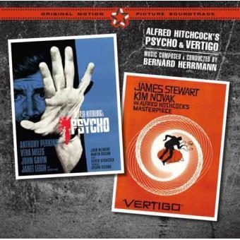 BSO Psycho + Vertigo + 2 Bonus Tracks (2CD)