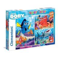 Puzzle À Procura de Dory 3x48 Peças