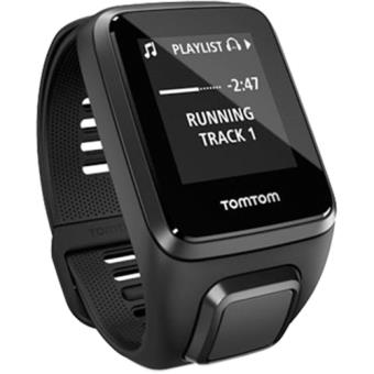 Relógio TomTom Spark 3 GPS + Cardio + Music + Auscultadores S - Preto