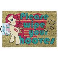 Tapete de Porta My Little Pony: Please Wipe Your Hooves