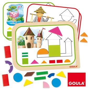 Puzzle Magnetic Shapes - Goula