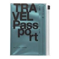 Bolsa Para Passporte Azul